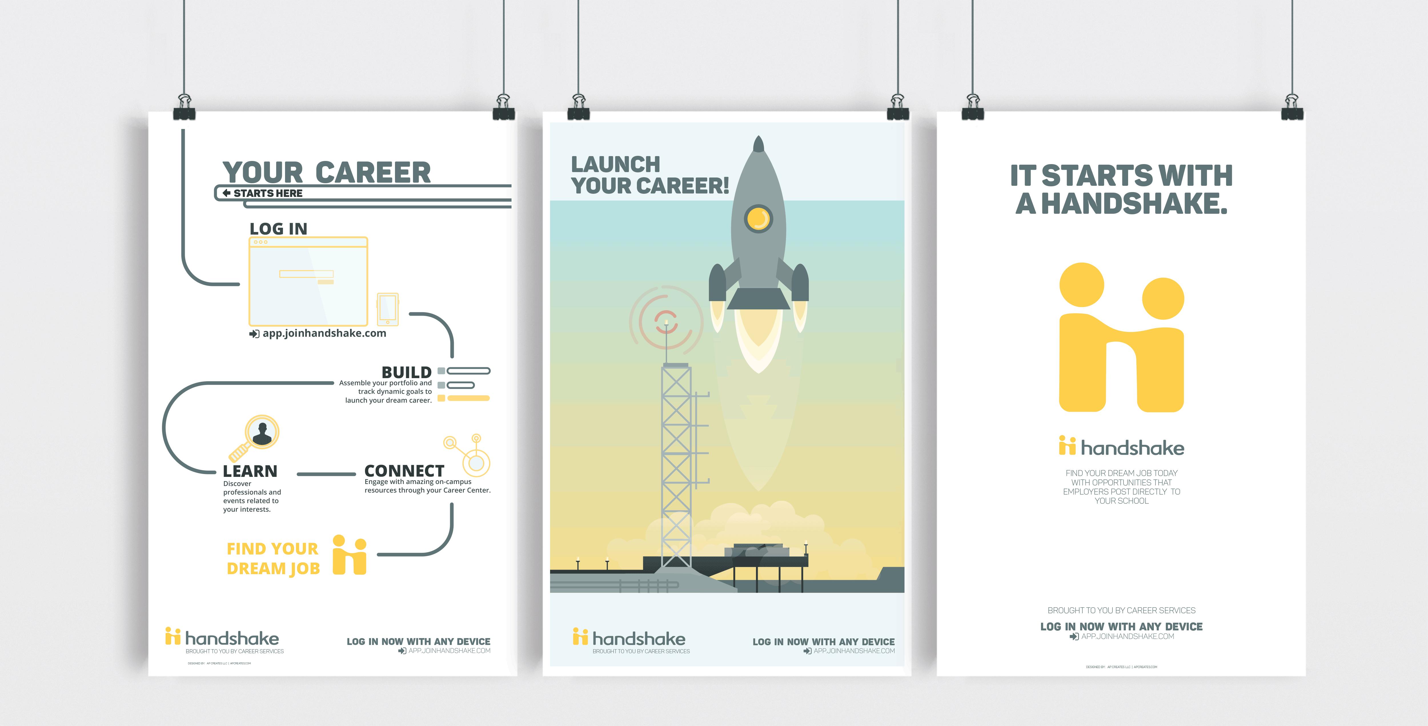 Hanshake Posters